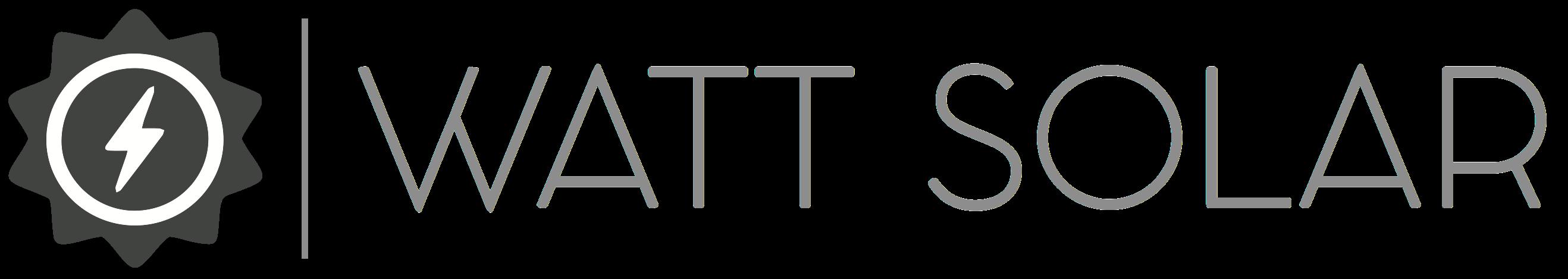 Watt Solar Logo